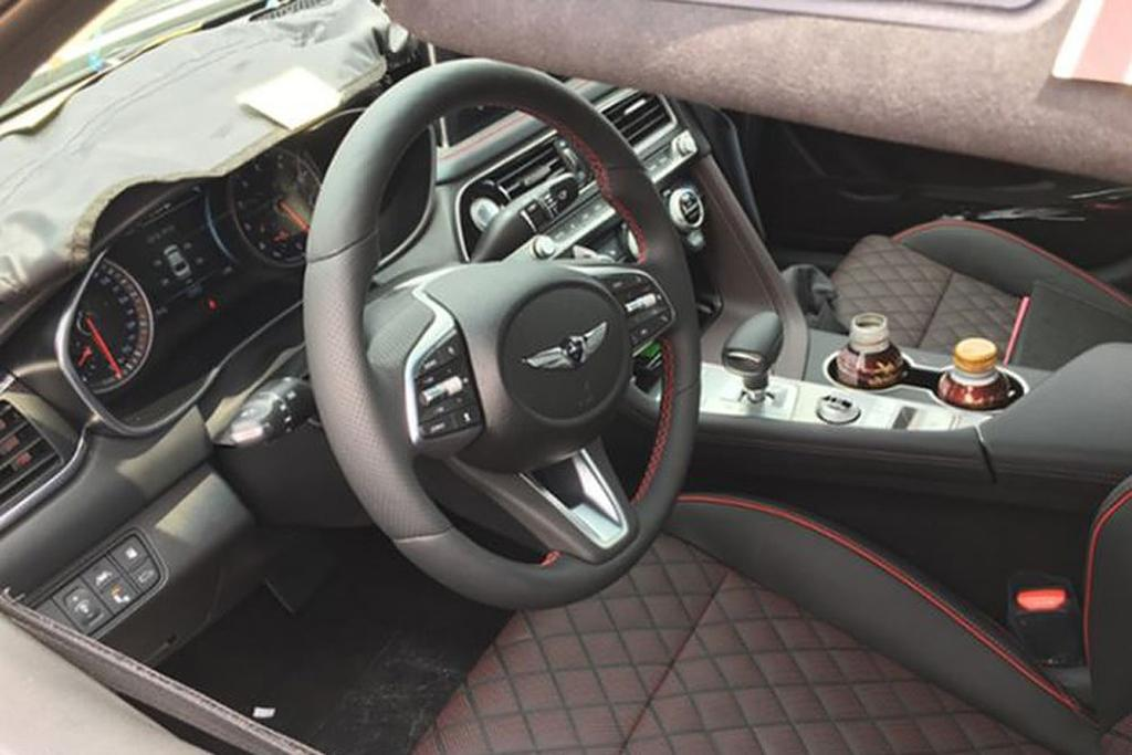 Spy Pics Genesis G70 Interior Uncovered Motoring Com Au