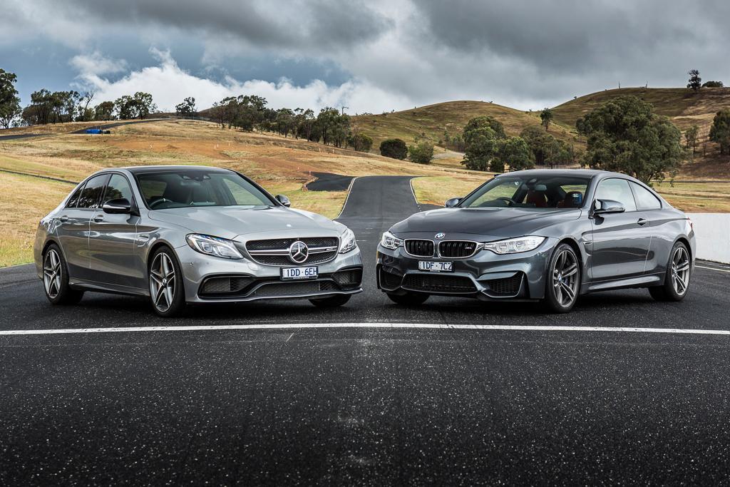 Bmw m4 coupe vs mercedes amg c63 s coupe photo comparison - Bmw M4 V Mercedes Amg C 63 S 2016 Comparison Motoring Com Au