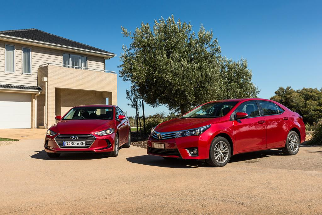Which of Australia's larger selling small sedans has the right stuff?