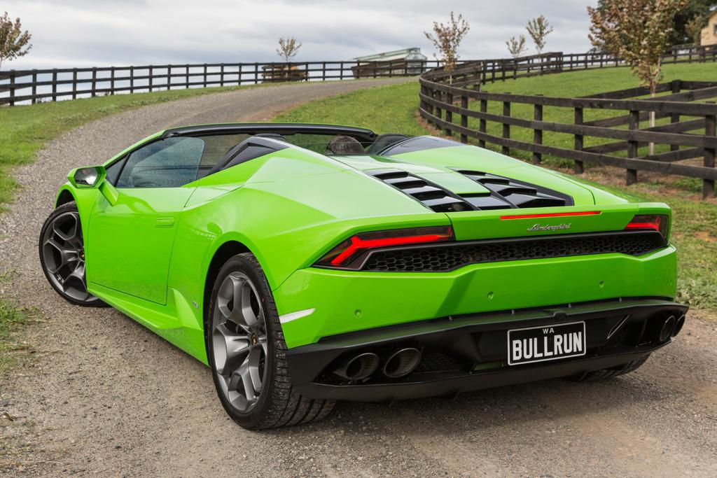 lamborghini huracan lp 610 4 spyder 2016 review motoring. Black Bedroom Furniture Sets. Home Design Ideas