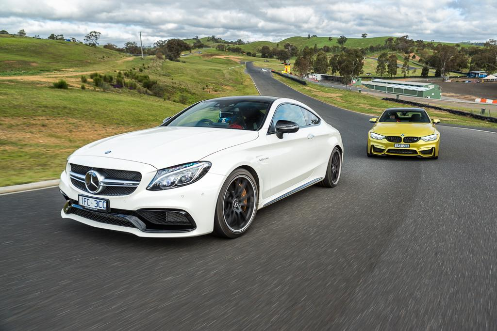 Bmw m4 coupe vs mercedes amg c63 s coupe photo comparison - Bmw M4 Competition V Mercedes Amg C 63 S Coupe 2016