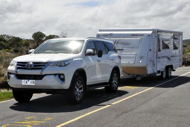 Toyota Fortuner 2017 Tow Test