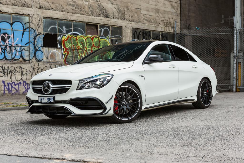 mercedes amg cla 45 review. Black Bedroom Furniture Sets. Home Design Ideas