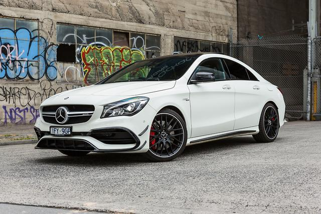 Mercedes Amg Cla 45 2017 Review Motoring Com Au