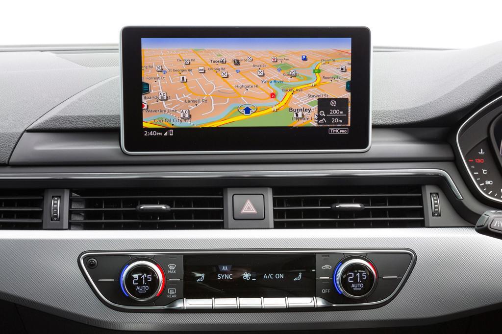 Audi A4 Avant Tech And Infotainment On Demand Motoring Com Au
