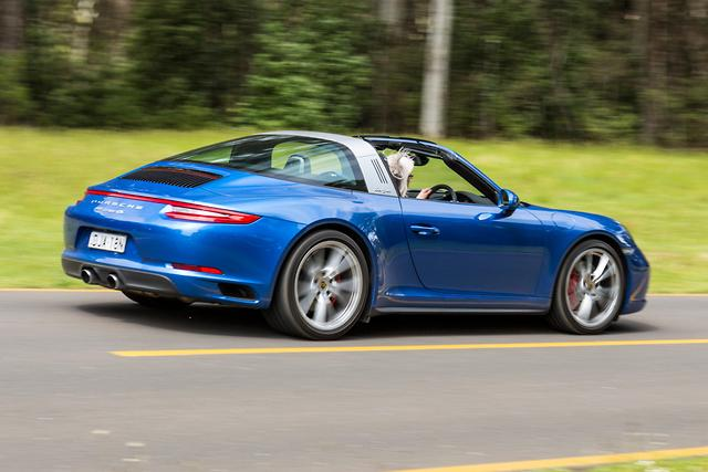 porsche 911 targa 4s 2017 review. Black Bedroom Furniture Sets. Home Design Ideas
