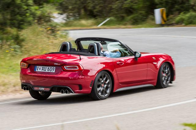 Abarth 124 Spider 2017 Review Motoring Com Au