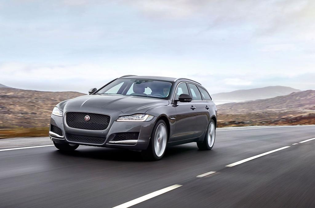 2018 jaguar station wagon.  2018 cosmetically the wagon features a heavily raked roofline that tapers into  an augmented set of tail lights take inspiration from ftype sports car with 2018 jaguar station