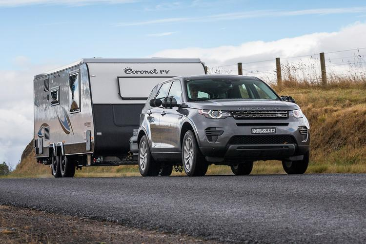 Land Rover Discovery Sport 2017 Tow Test