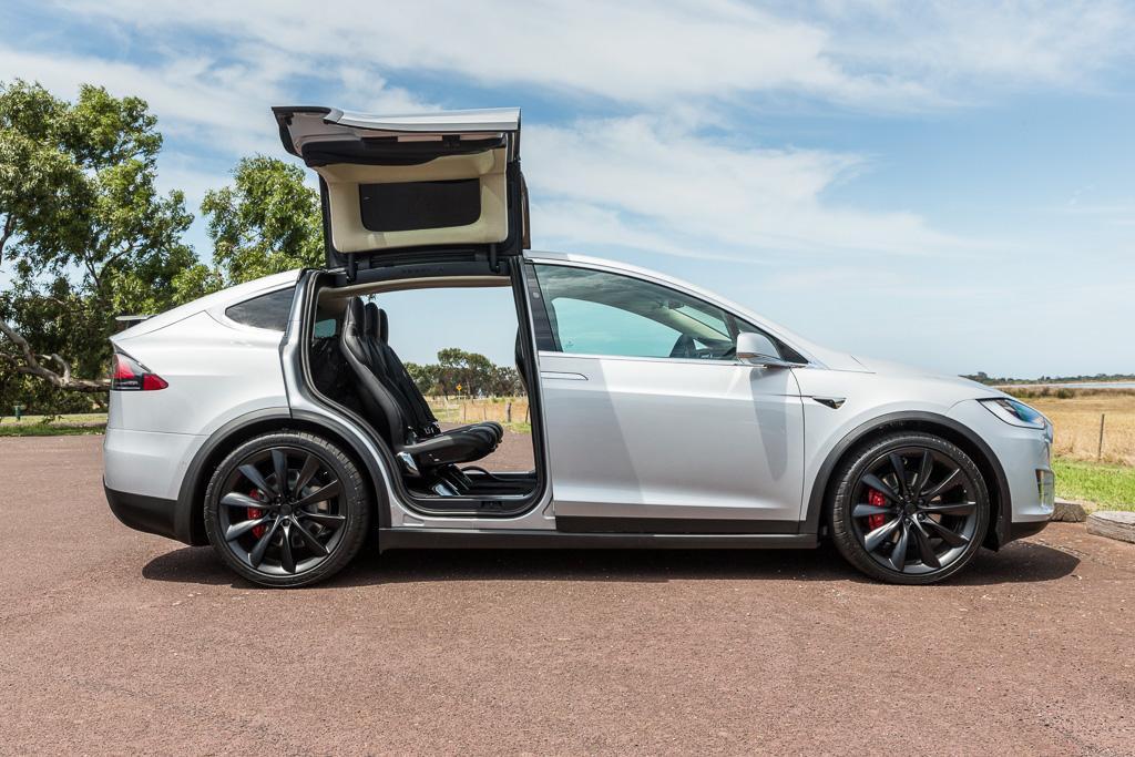 Tesla Model X 2017 Review Motoring Com Au
