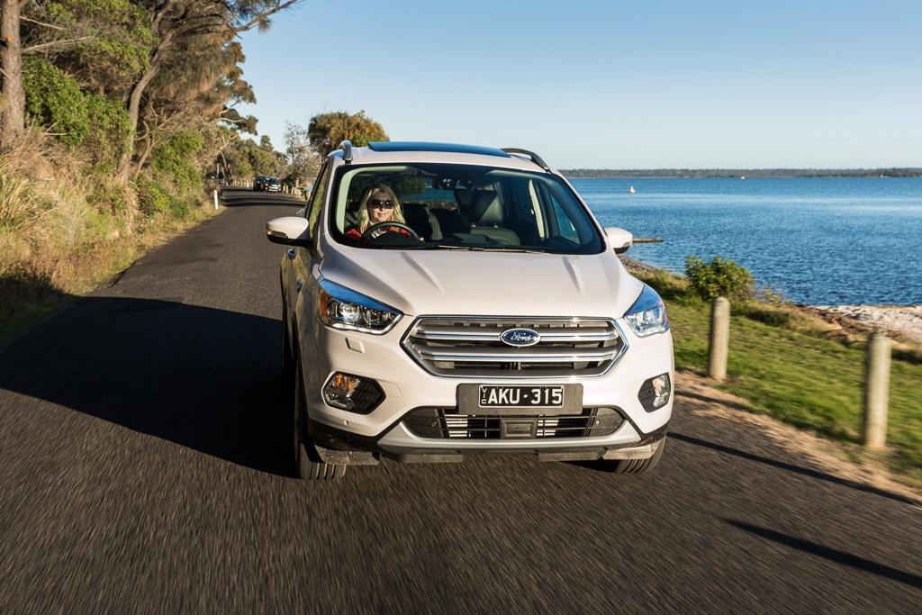 Medium SUV Comparison 2017 Ford Escape Review  motoringcomau