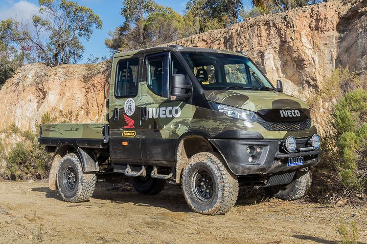 Iveco Daily 4x4 2017 Review Motoring Com Au