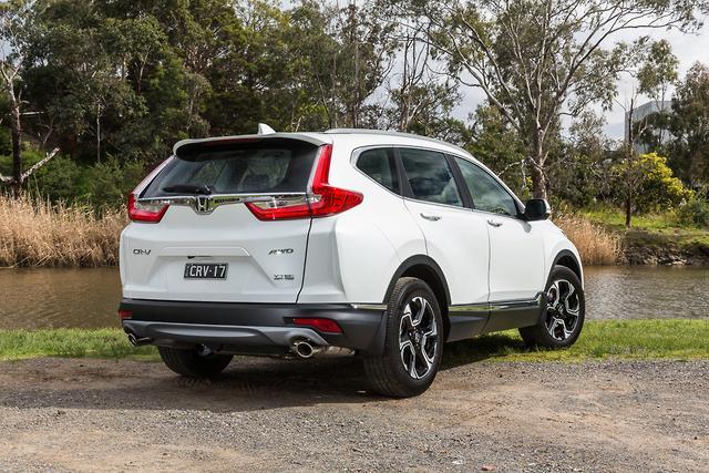 Honda CR-V 2017 Review - motoring com au