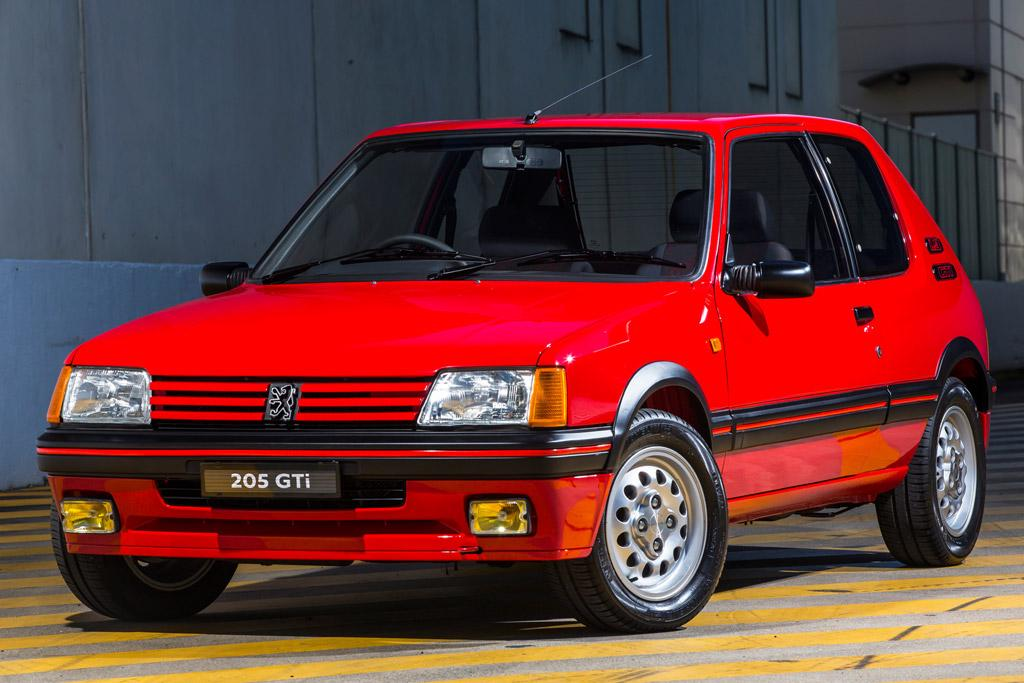 peugeot 205 gti sets world record price. Black Bedroom Furniture Sets. Home Design Ideas