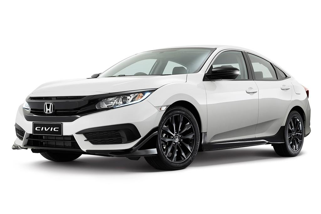 Black Pack For New Honda Civic Motoring Com Au