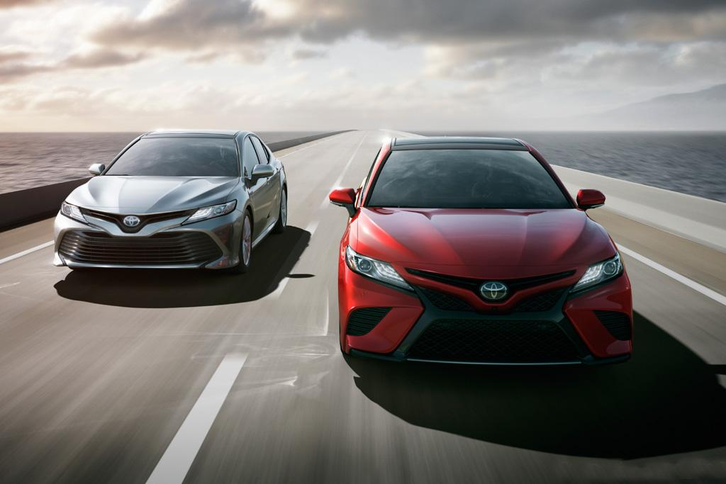 detroit motor show 2018 toyota camry due before year 39 s end. Black Bedroom Furniture Sets. Home Design Ideas