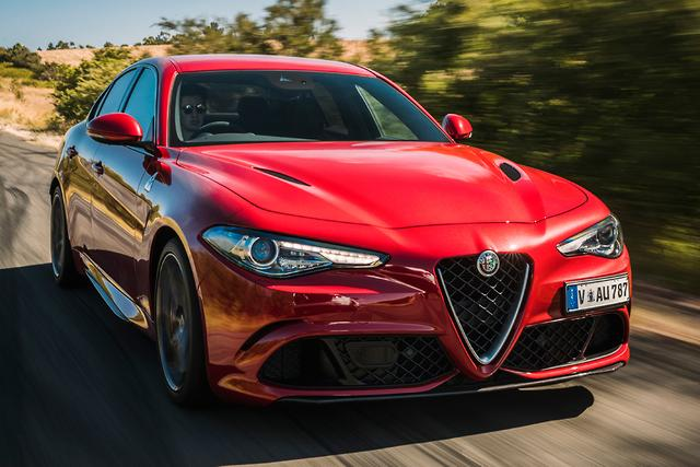 New Alfa Romeo Giulia Goes For Bmw 3 Series Jugular