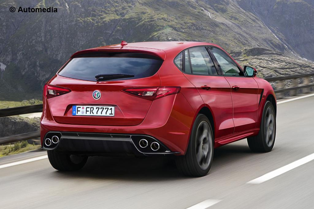la motor show alfa to debut stelvio suv in la. Black Bedroom Furniture Sets. Home Design Ideas