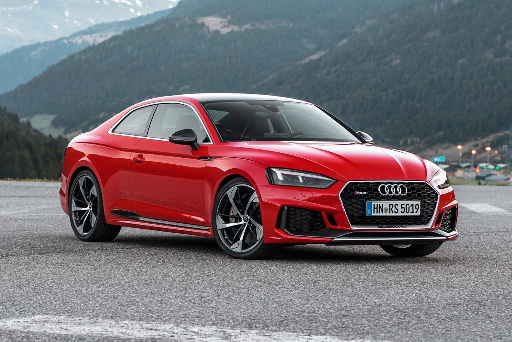 New audi rs 5 here november for Nardo grey paint cost