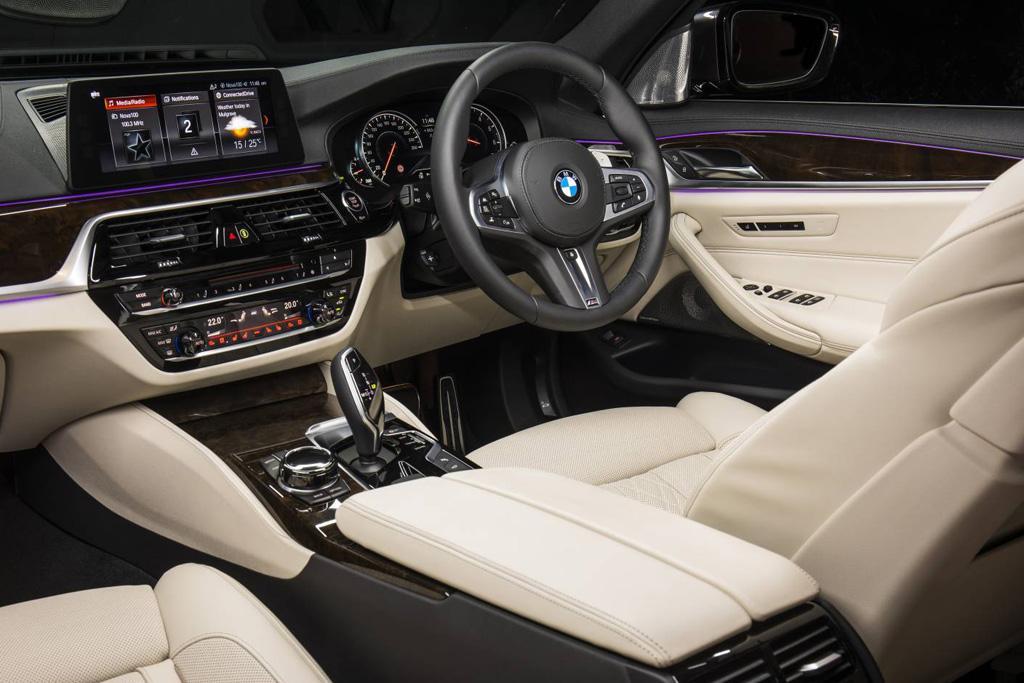 Bmw 520d 2018 >> BMW 5 Series Touring: Australian details - motoring.com.au