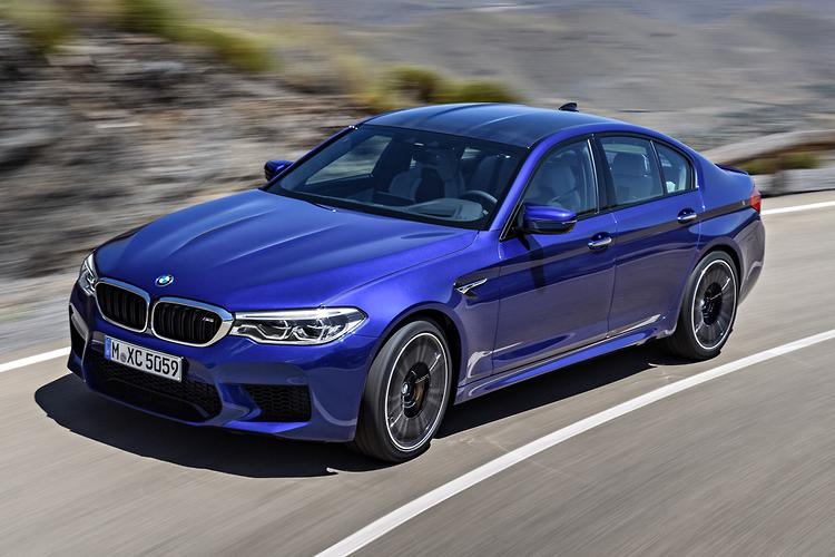 BMW M5 packs all-wheel drive, 600 PS