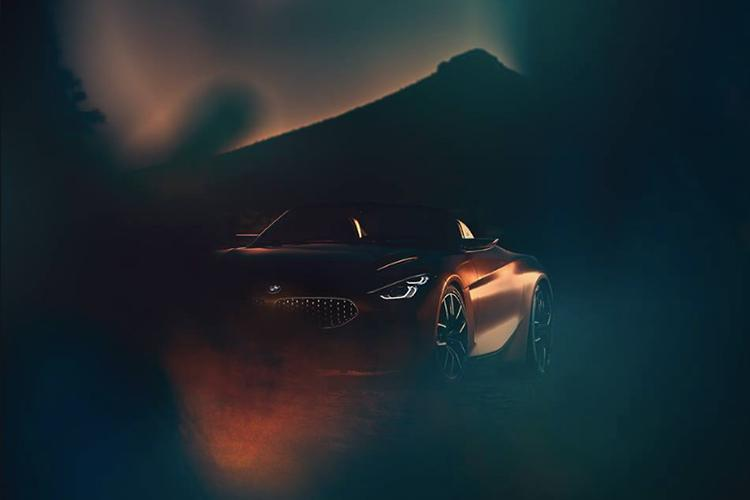 Published the first pictures of the new BMW Roadster