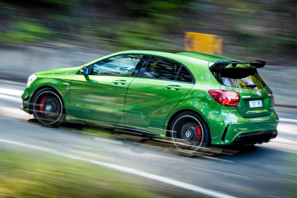 Mercedes A45 Green >> Mercedes-AMG A 45 4MATIC 2016 Review - motoring.com.au