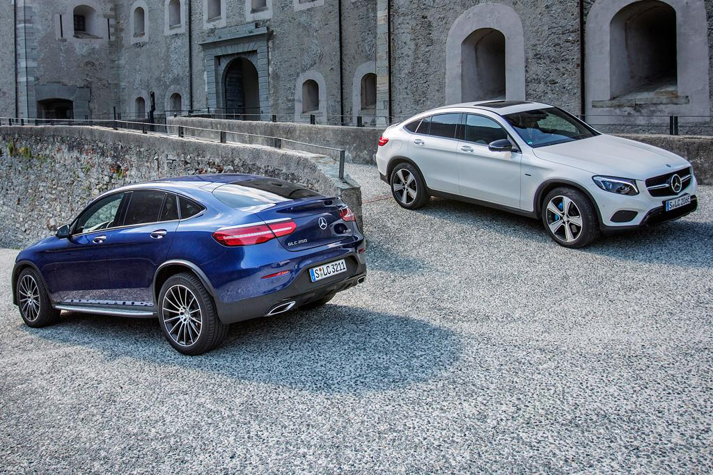 Mercedes benz glc coupe here november for Mercedes benz glc coupe