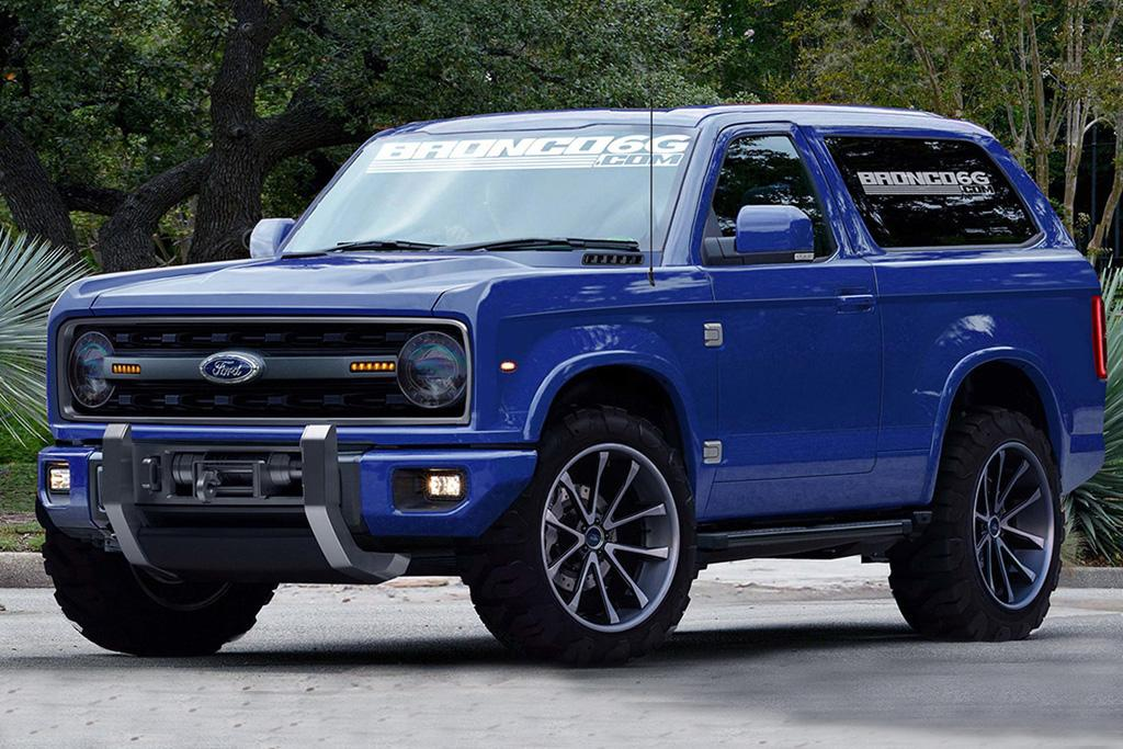Ford's 2020 Bronco taking shape - motoring.com.au