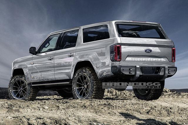 Ford's 2020 Bronco taking shape - motoring.com.au