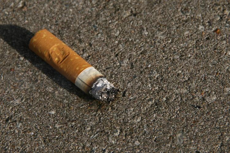 Cigarette Butts May be Reused to Build Roads