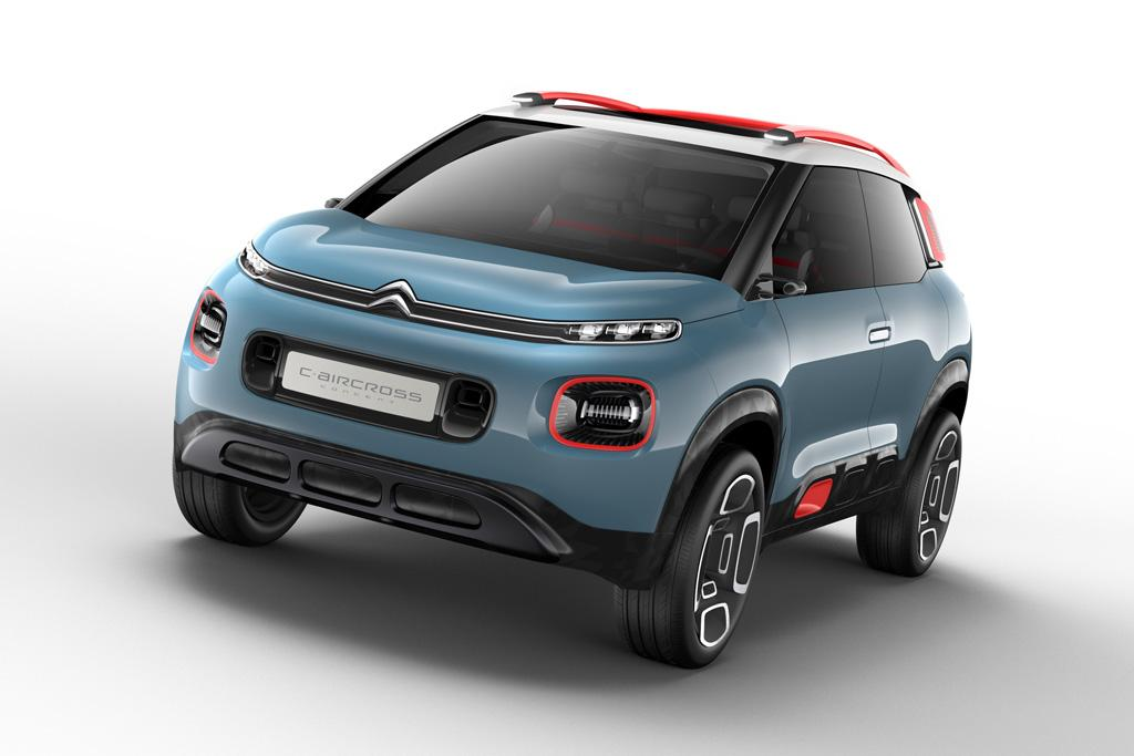geneva motor show citroen c aircross concept. Black Bedroom Furniture Sets. Home Design Ideas