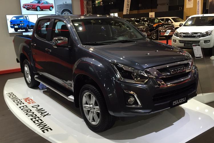 updated isuzu d max due in oz early 2017. Black Bedroom Furniture Sets. Home Design Ideas