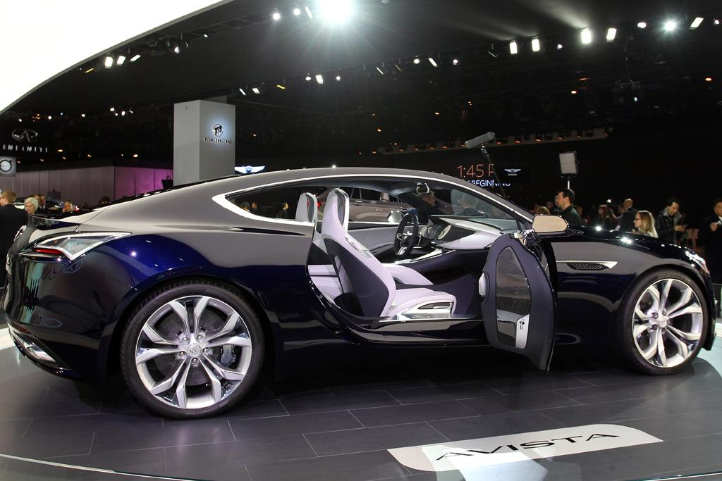 detroit motor show sexy new buick won 39 t become a holden. Black Bedroom Furniture Sets. Home Design Ideas