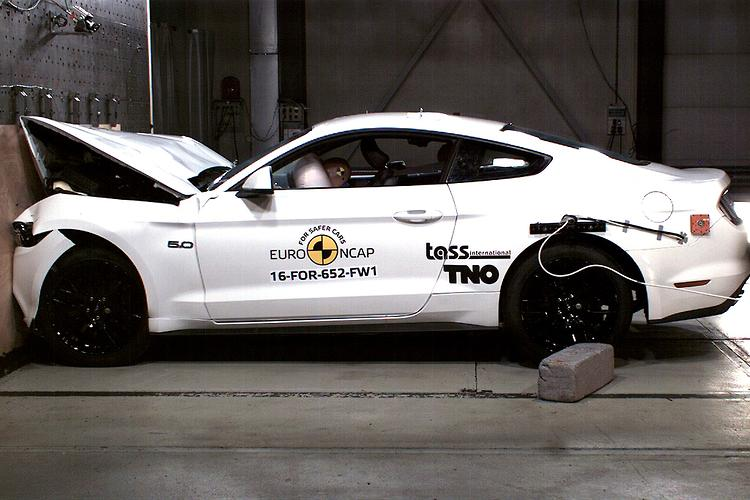 Ford Mustang earns three Euro NCAP stars after safety reassessment