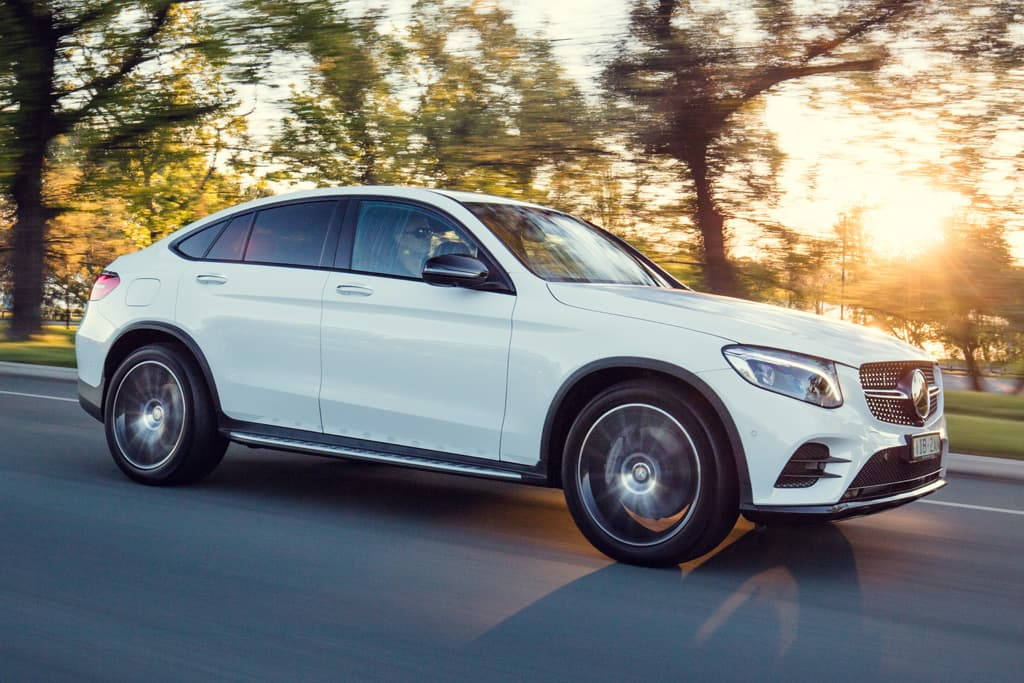 Mercedes Benz Glc Coupe 2017 Review Motoring Com Au