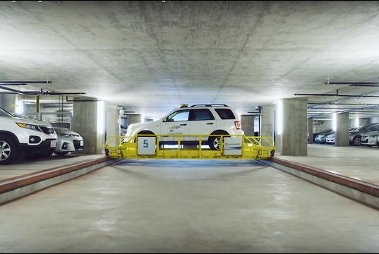 video robo valet to revolutionise car parking. Black Bedroom Furniture Sets. Home Design Ideas