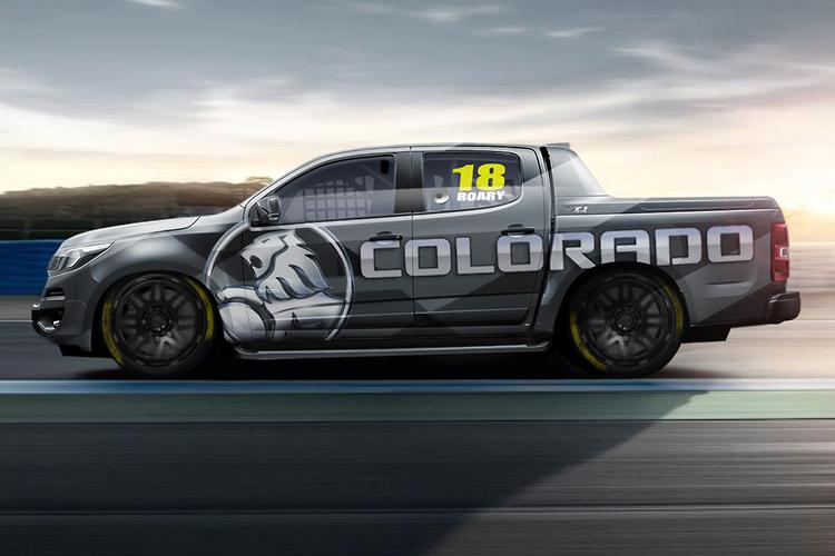 Holden Colorado goes racing