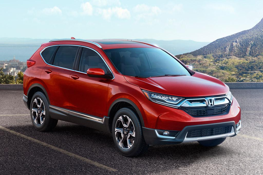 All new honda cr v debuts for Honda crv usa