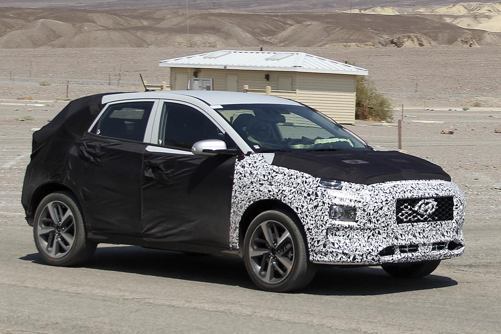 hyundai 39 kona 39 city suv set for 2017 debut. Black Bedroom Furniture Sets. Home Design Ideas