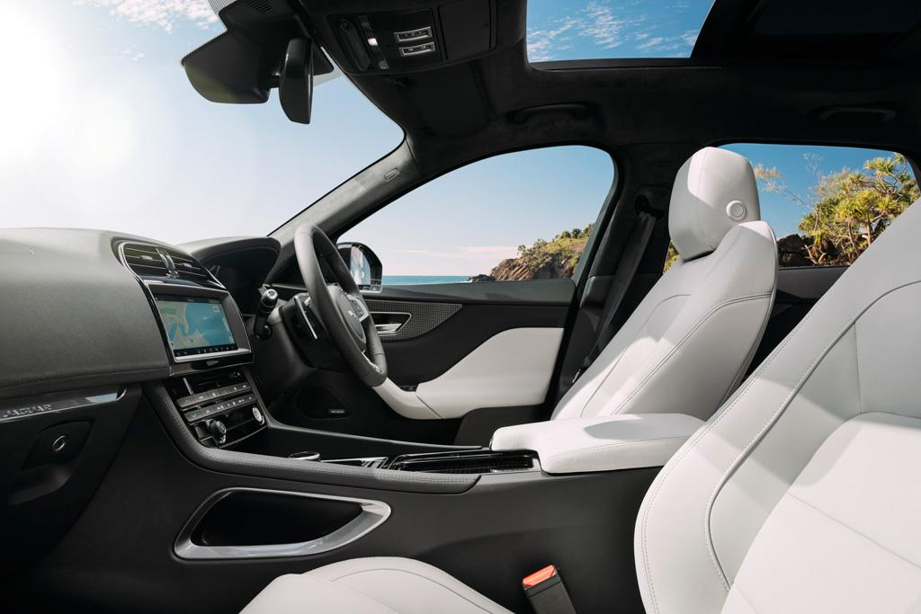 2017 Jaguar F Pace Prestige >> F-PACE to add petrol four and RWD - motoring.com.au