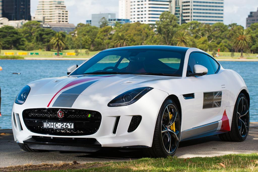 Co Drive A Jaguar F Type At The Oz F1 Gp Motoring Com Au