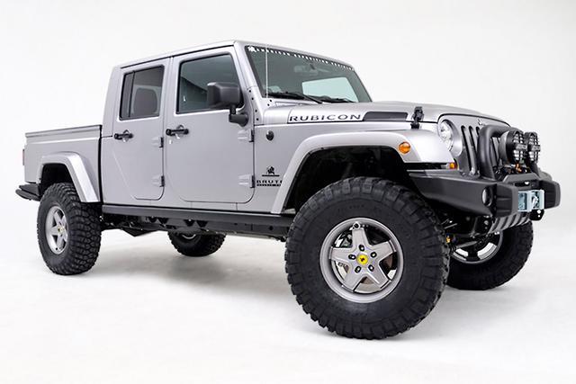 Jeep Wrangler Pickup Truck 2017 >> Jeep Wrangler pick-up not until 2019 - motoring.com.au