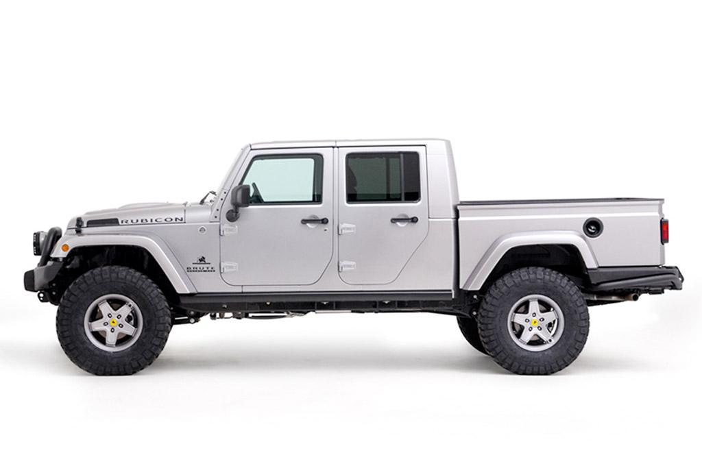Jeep Wrangler pick-up not until 2019 - motoring.com.au
