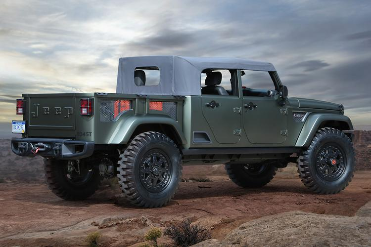 Since then jeep has suggested the crew chief 715 concept pictured