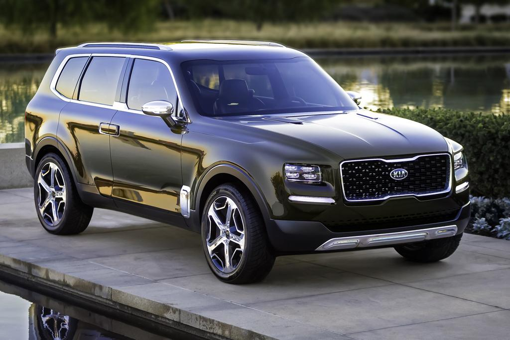 seven-seat SUV concept takes Kia upmarket, but will it be sold here ...