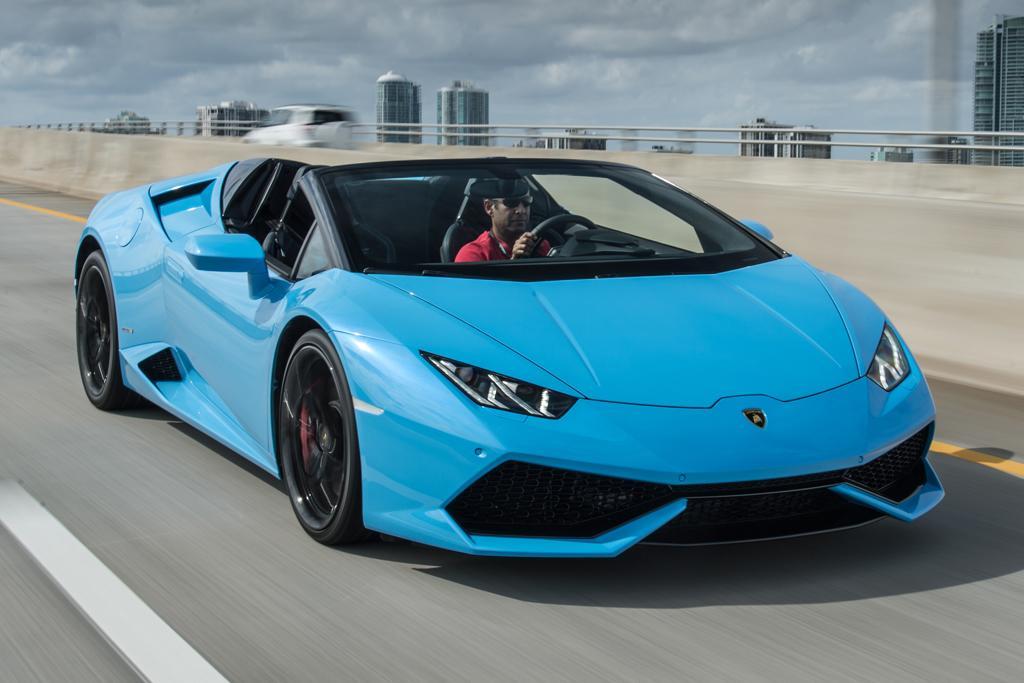 Lamborghini Huracan Spyder 2016 Review Motoring Com Au