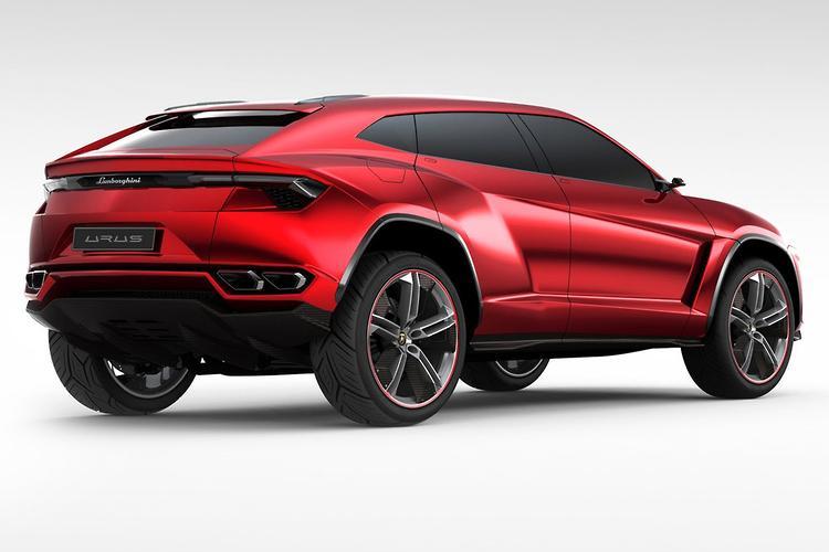 Lamborghini's first SUV will pump out 650 hp
