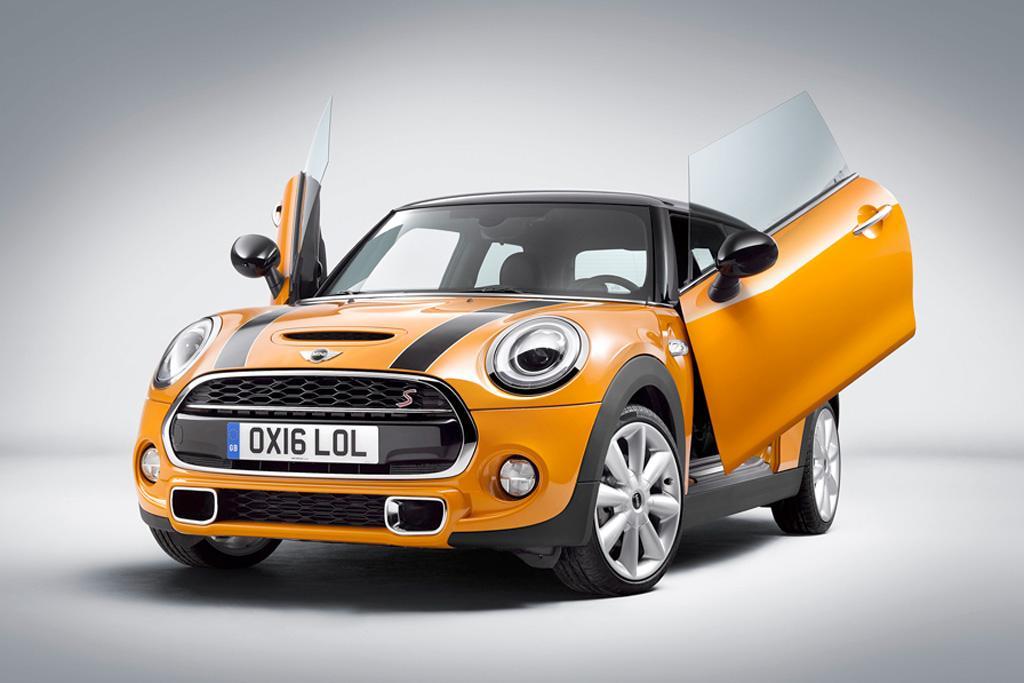 Mini Gets Lambo Style Scissor Doors Motoring Com Au