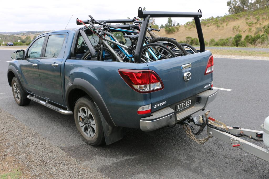 mazda bt-50 2016 tow test - motoring.au